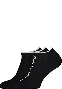 Calvin Klein herensokken Grant (3-pack), onzichtbare lage sportsokken, zwart