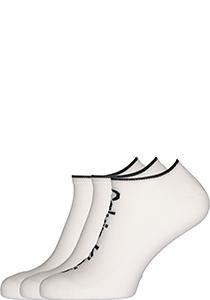 Calvin Klein herensokken Grant (3-pack), onzichtbare lage sportsokken, wit