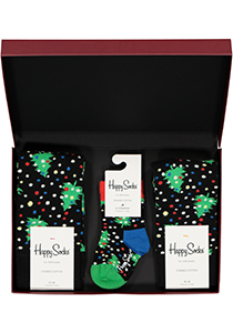 Happy Socks cadeauset, 3-pack Baby's eerste kerstboom (family pakket)