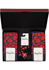 Happy Socks cadeauset, 3-pack Liefde is... (family pakket)
