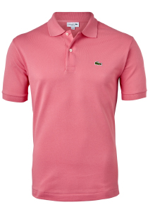 Lacoste Classic Fit polo, amaryllis roze