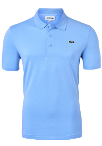 Lacoste Sport polo Regular Fit stretch, panorama lichtblauw