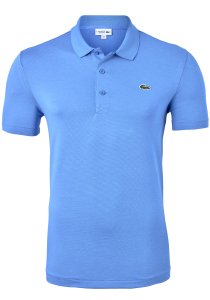 Lacoste Sport polo Regular Fit stretch, blauw-grijs