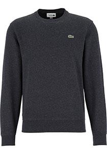 Lacoste heren sweatshirt, antraciet