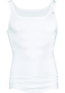 Mey Noblesse athletic shirt (1-pack), heren singlet fijn rib, wit