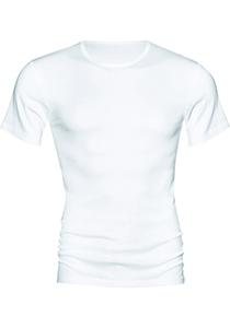 Mey Noblesse T-shirt (1-pack), heren T-shirt O-hals fijnrib, wit