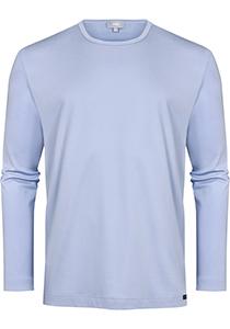 Mey pyjamashirt lange mouw, Springvale, lichtblauw