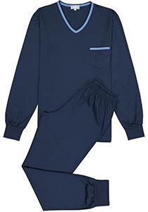 Mey heren pyjama Leongatha, donkerblauw