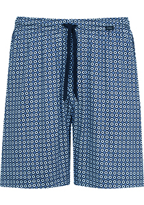 Mey pyjamabroek kort, Mornington, blauw dessin