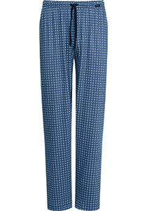 Mey pyjamabroek lang, Mornington, blauw dessin