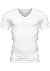 Mey Dry Cotton T-shirt (1-pack), heren T-shirt V-hals, wit