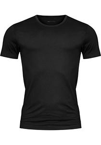 Mey Dry Cotton T-shirt (1-pack), heren T-shirt O-hals, zwart