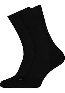 FALKE Run unisex sokken, zwart (black)