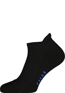 FALKE Cool Kick unisex enkelsokken, zwart (black)