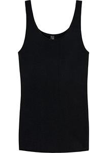 SCHIESSER Luxury dames hemdje (1-pack), zwart