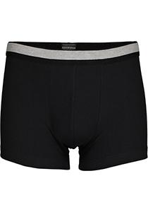SCHIESSER Retro Rib short (1-pack), elastische dubbelrib, zwart