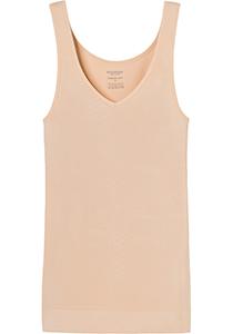 SCHIESSER Seamless Light dames tank top, naadloos hemd, huidskleur