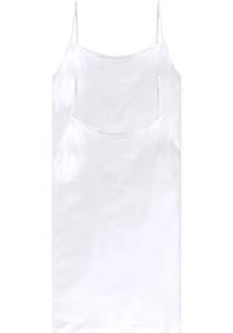 SCHIESSER Cotton Essentials dames singlet (2-pack), spaghetti bandjes, wit