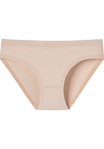 SCHIESSER Invisible Cotton dames slip (1-pack), huidskleur