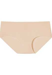 SCHIESSER Invisible Soft dames panty slip hipster (1-pack), huidsklru
