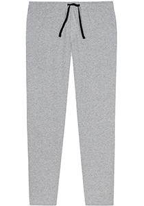 SCHIESSER Mix+Relax lounge broek, lange pijpen zonder boord, dun, grijs