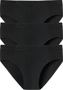 SCHIESSER 95/5 Essentials supermini slips (3-pack), zwart