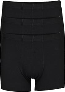 SCHIESSER 95/5 Essentials shorts (3-pack), zwart