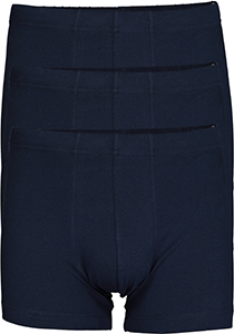 SCHIESSER 95/5 Essentials shorts (3-pack), donkerblauw