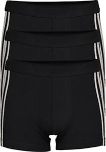 SCHIESSER 95/5 Stretch shorts (3-pack), zwart