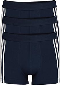 SCHIESSER 95/5 Stretch shorts (3-pack), donkerblauw