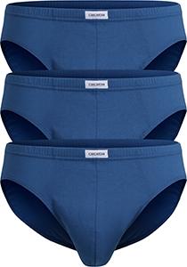 Ceceba heren slips (3-Pack), blauw