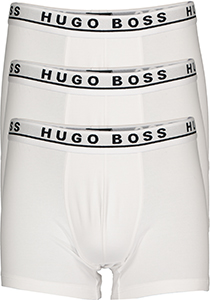 HUGO BOSS boxer brief (3-pack), heren boxers normale lengte, wit