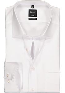 OLYMP Luxor modern fit overhemd, mouwlengte 72 cm, wit