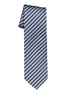 OLYMP stropdas, blauw-lichtblauw gestreept