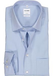 OLYMP Luxor Comfort Fit overhemd, lichtblauw