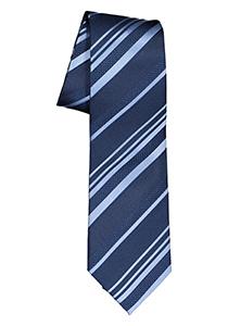 ETERNA stropdas, blauw gestreept