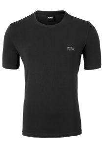 Hugo Boss Lounge T-shirt Regular Fit, O-hals, zwart