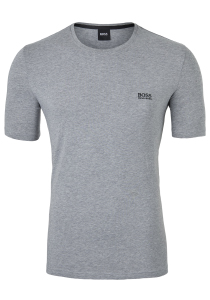 Hugo Boss Lounge T-shirt Regular Fit, O-hals, grijs