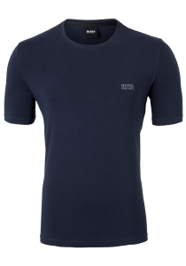 Hugo Boss Lounge T-shirt Regular Fit, O-hals, blauw
