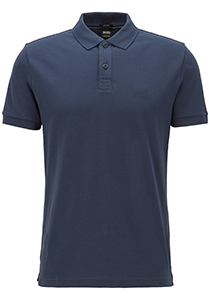 Hugo Boss Regular Fit heren polo, Piro, blauw