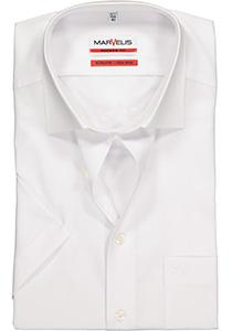 MARVELIS modern fit overhemd, korte mouw, wit