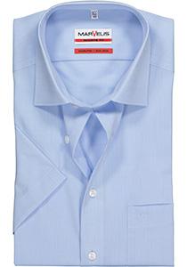 MARVELIS modern fit overhemd, korte mouw, lichtblauw