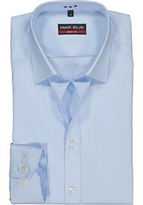 MARVELIS Body Fit overhemd, lichtblauw