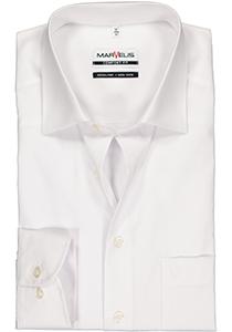 MARVELIS comfort fit overhemd, mouwlengte 7, wit
