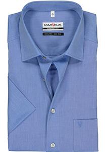MARVELIS comfort fit overhemd, korte mouw, blauw