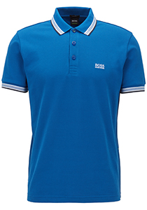 Hugo Boss Regular Fit heren polo, Paddy, blauw