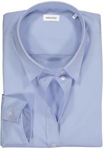 Seidensticker dames blouse Regular Fit, lichtblauw