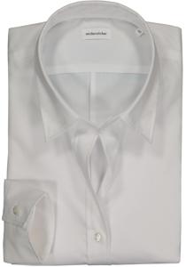 Seidensticker dames blouse Slim Fit, wit