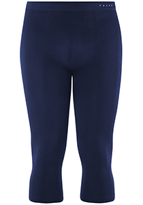 FALKE Maximum Warm heren thermo broek 3/4, blauw