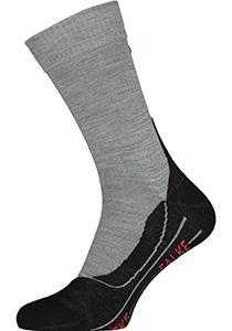 FALKE TK5 heren wandelsokken, licht grijs (light grey)